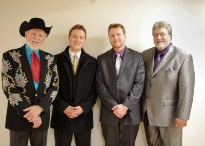 John, Mark & Mike with Doyle Lawson