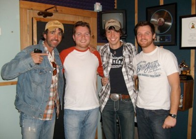 Mark and Jeff with Mo and Danny Pitney